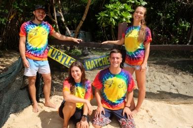 Turtle Conservation Team 2017: Duncan, Janet, Jorge & Holly